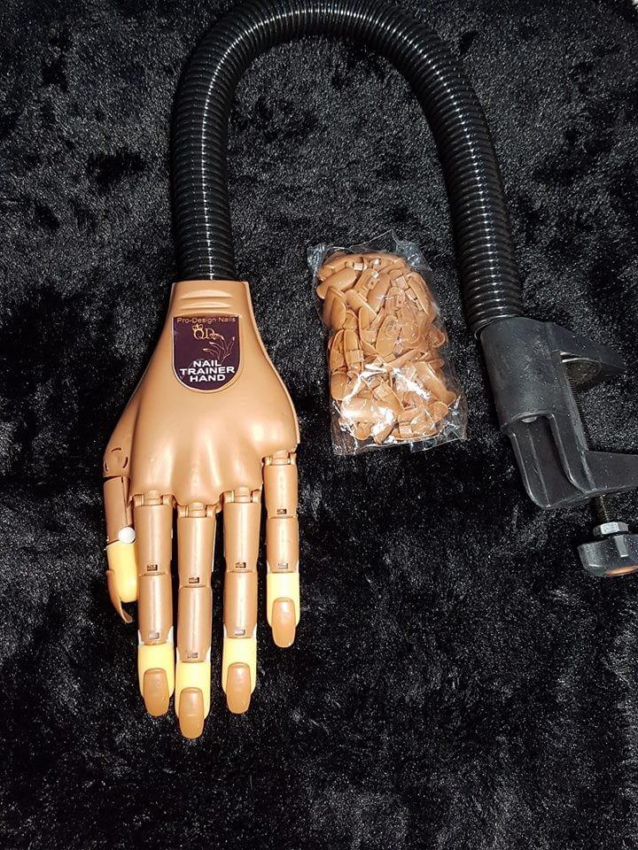 Nail Practice Hand - QD Nails