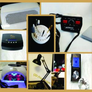 Lamps, Extractors, Efiles, Drills, Massager, Bits, Burrs