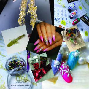Nail art Bling, Sliders, Foils, Beads, Zircon, Flower etc etc Decor for Nails