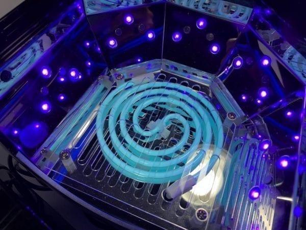 48W CCFL-LED Nail Lamp. Cures both UV/LED