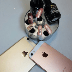 Iphone and Rose Gold Colours.
