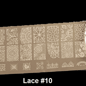 Stamping Plate Lace #10