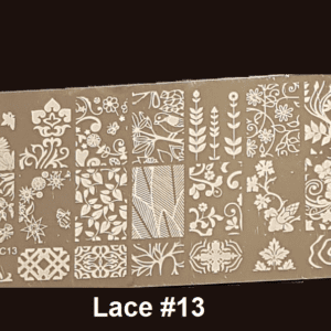 Stamping Plate Lace #13