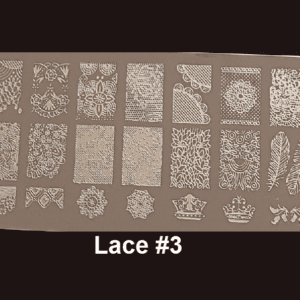 Stamping Plate Lace #03