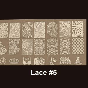 Stamping Plate Lace #05