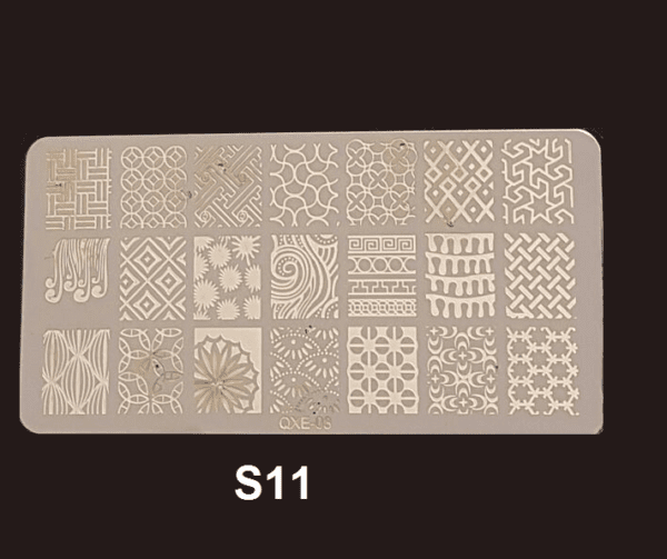 Stamping Plate S #11