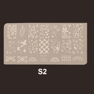 Stamping Plate S #02