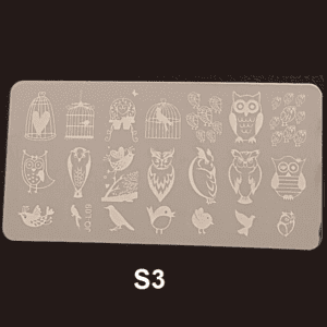 Stamping Plate S #03