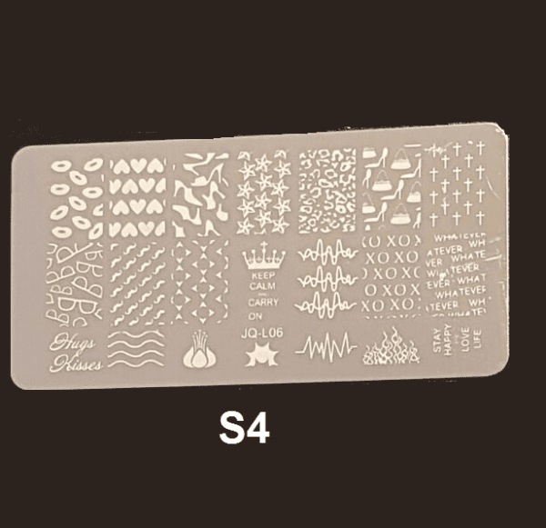 Stamping Plate S #04