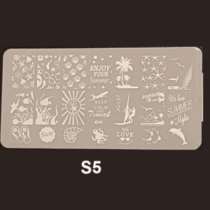 Stamping Plate S #05