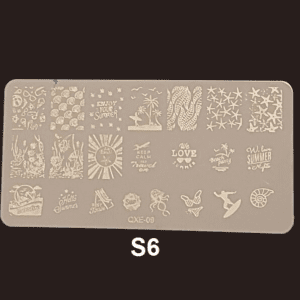 Stamping Plate S #06