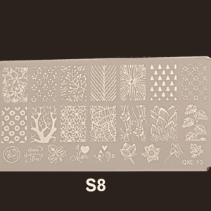 Stamping Plate S #08
