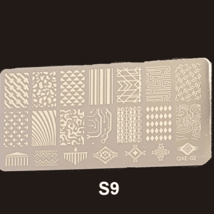 Stamping Plate S #09
