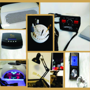 Lamps, Extractors, Drills, Efiles, Massager, Bits