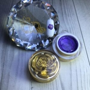 15 New Generation Sculpting Gel glitter purple