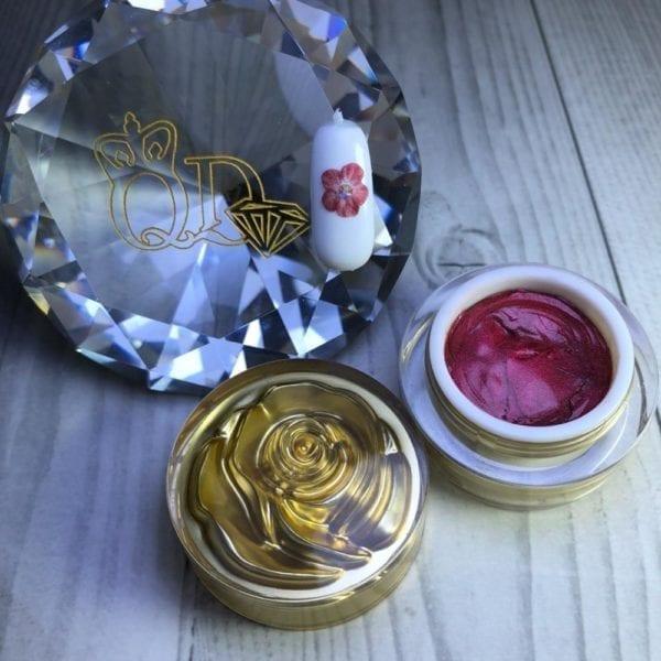 16 new generation sculpting gel glitter red