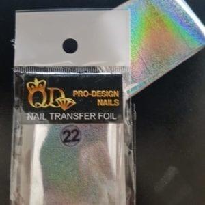 22 qd transfer foil