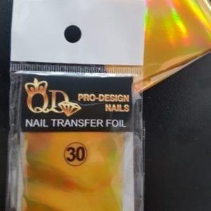 30 qd transfer foil