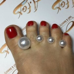 Pearl 8pc toe separator