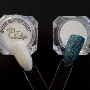 Glitter Dust 5ml white