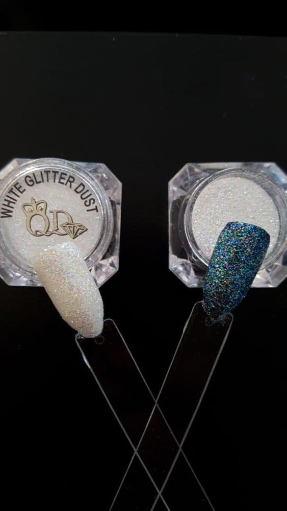 Glitter Dust 5ml white