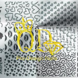 Stamping Plate Radost R6