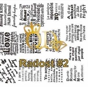 Stamping Plate Radost R2