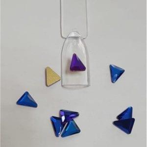#53 Chameleon Triangle nail-art-crystal-K9