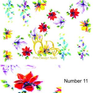 11 5D Nail Art Sticker