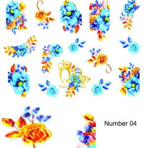 4 5D Nail Art Sticker