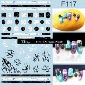 117 QD/F Series Stickers