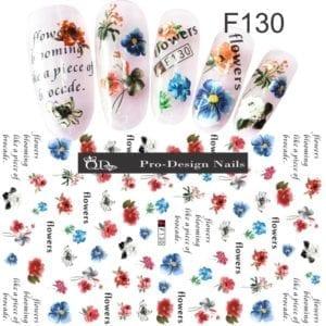 130 QD/F Series Stickers