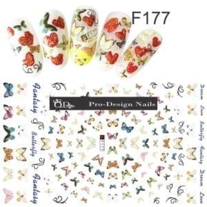177 QD/F Series Stickers