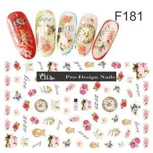181 QD/F Series Stickers