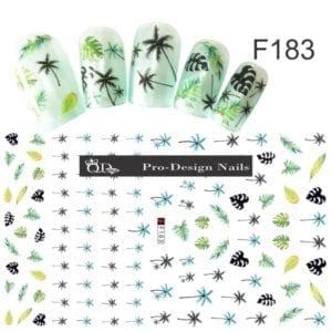 182 QD/F Series Stickers