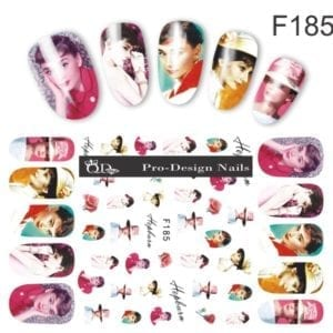 185 QD/F Series Stickers