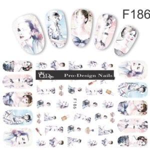 186 QD/F Series Stickers
