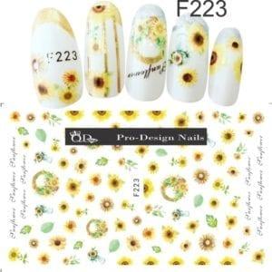 223 QD/F Series Stickers
