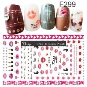 299 QD/F Series Stickers
