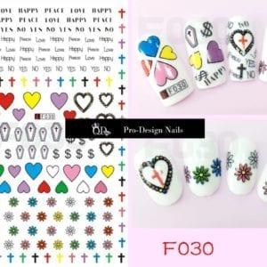 30 QD/F Series Stickers