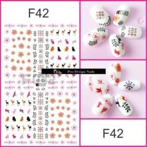 42 QD/F Series Stickers