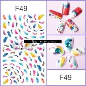 49 QD/F Series Stickers