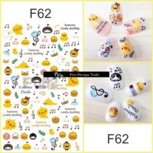 62 QD/F Series Stickers