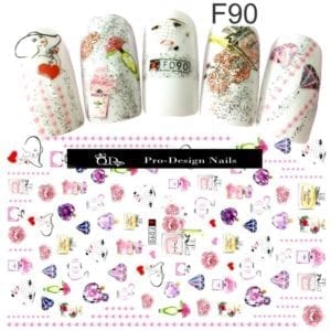 90 QD/F Series Stickers