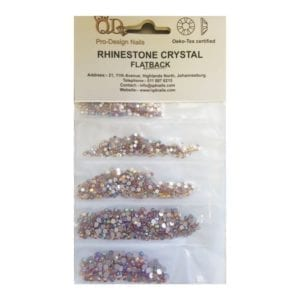 AB/Topaz Mixed Rhinestones Pack 1700pc