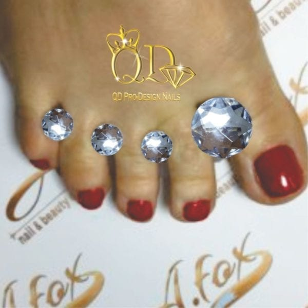 Diamond 8pc toe/separator