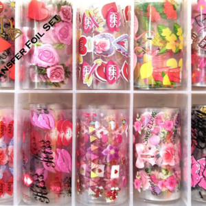 5/Nail Transfer Foil Set 10pc