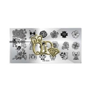 Stamping Plate OMD10 - Little Creatures