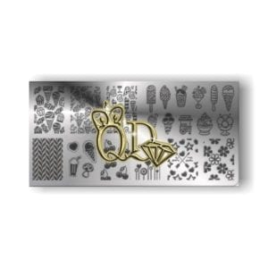 Stamping Plate OMD2 - Ice Cream