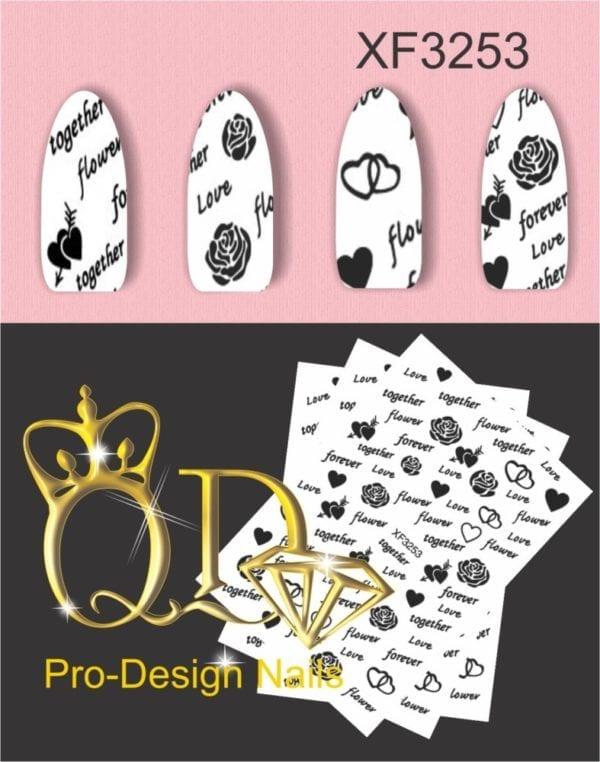 3375X QD/F Series Stickers